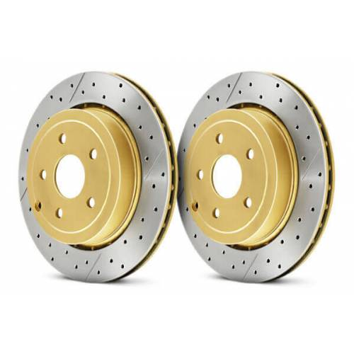 DBA X-Gold задние тормозные диски для Lexus RX/ Toyota Highlander (309x10mm) (07-13)