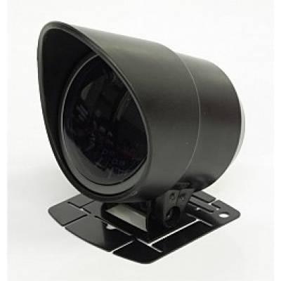RACETECH 52RTVOSWL270-SM Вольтметр, 52мм подиум в к-те, белая подсветка, черный