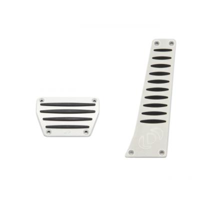 Dinan К-т накладок педалей, для АКПП (SMG ) Aluminum Pedal Cover Set for BMW