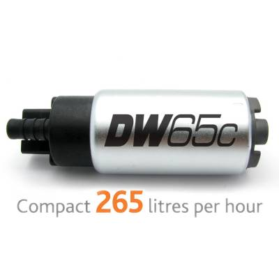 DEATSCHWERKS DW65C  Насос топливный (265л/ч) для Mitsubishi Evolution  X, Mazda MPS 3/6, Honda Civic/Integra DC5