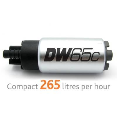 DEATSCHWERKS DW65C  Насос топливный (265л/ч) для Mitsubishi Evolution  X, Mazda MPS 3/6, Honda Civic/Integra DC5