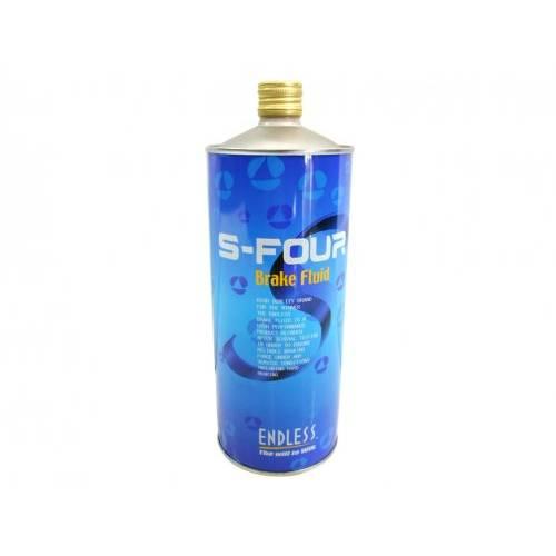 Endless S-FOUR Тормозная жидкость DOT4  (1л) (295°C)