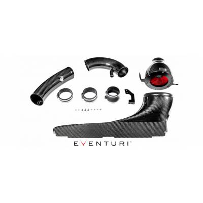 EVENTURI EVE-8VRS3G1-CF-RHD-INT Audi 8V RS3 - RHD Full Black Carbon Intake