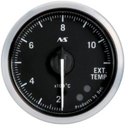 DEFI Link Meter ADVANCE RS Датчик температуры выхлопных газов 52мм (черный)