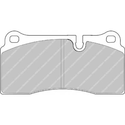 FERODO DS2500 задние тормозные колодки для NISSAN GT-R R35 / AUDI R8 / LAMBORGHINI  DIABLO/ GALLARDO/ MURCIELAGO