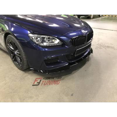 3D Design-style Передняя губа для BMW 6-series M-sport (F12/F13/F06) (пластик)