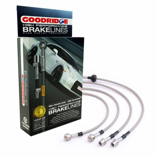Goodridge армированные тормозные шланги ABE Kit Mercedes C63 AMG (W204) цена
