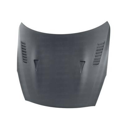 SEIBON  Карбоновый капот матовый ES-style для Nissan GT-R (сухой карбон)