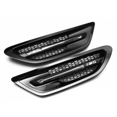 IND IND-F10M5SM Боковые решетки для BMW F10 M5 (Gloss black)