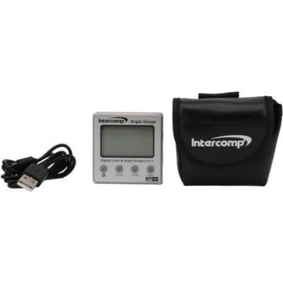 INTERCOMP 102144 Измеритель угла цифровой (магнитный корпус)