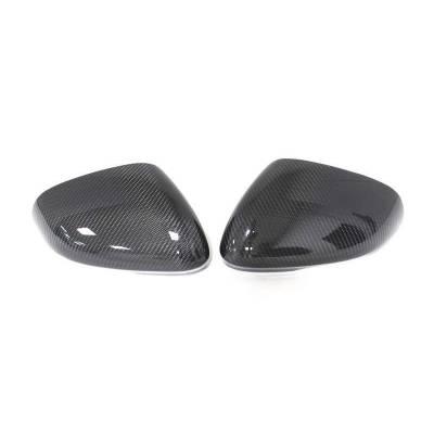 Карбоновые накладки на зеркала для Jaguar XFR/XF (2008-2010)