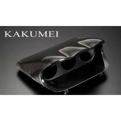 KAKUMEI GC8-GUP-01 Подиум под три прибора Impreza GC8 (Carbon)