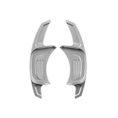 Leyo Удлинённые подрулевые лепестки для VW GTI MK7 | Golf 7R (Серебро), PGT002S