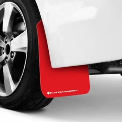 Rally Armor Брызговики Red UR для UNIVERSAL FITMENT (белый логотип)