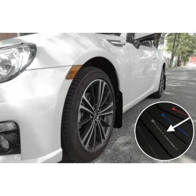 Rally Armor  Брызговики UR для Toyota GT86/Scion FRS / Subaru BRZ (Серебряный логотип)