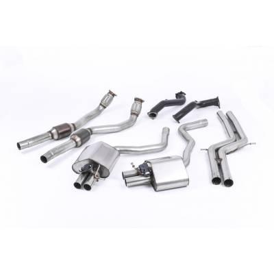 MILLTEK Выхлопная система от турбин (споркаты, без резонаторов) для Audi RS6/RS7 (2012+)