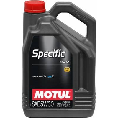 MOTUL Specific dexos2 5W30 масло моторное 5 л.