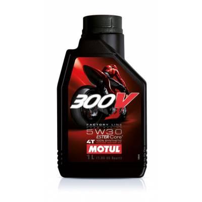 MOTUL 104111 300V Factory Line Road Racing 5W30 масло моторное 4-х тактн. 4 л.