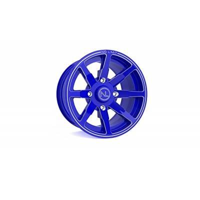 NO LIMIT WHEELS D1008PL08A Диск Octane Boardwalk Blue 12x6 4x110 3+3