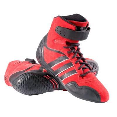 ADIDAS 5190418 FEROZA Ботинки для автоспорта, FIA, красный/черный, р-р 42