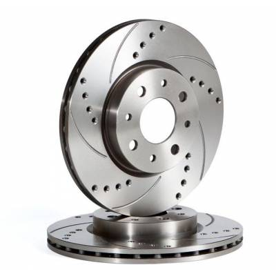 OmniCompetition передние тормозные диски для Audi A6 (04-11) (314х25mm)