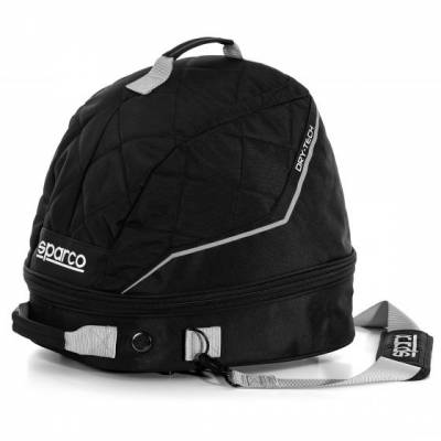 SPARCO 016441NRSI Сумка для шлема и HANS с сушкой DRY-TECH. 1.3 кг. 40x30x14 см. чёрный/серебро