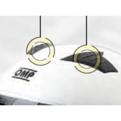 OMP SC150 Верхние воздухозаборники для шлема CIRCUIT MY2017 2 шт.