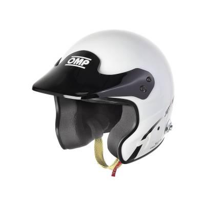 OMP SC779XL020 JET 7S INTERCOM Шлем для автоспорта гарнитура B-RACE, FIA, белый , р-р XL