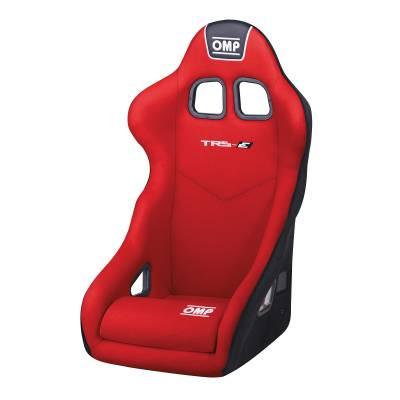 OMP HA741ER Креслосиденье FIA TRS-E, красный