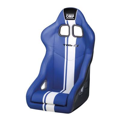 OMP HA744EBW Креслосиденье FIA TRS-E PLUS, синийбелый
