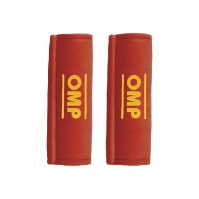 OMP DB,450,3 ,R Накладки на ремни  - не огнеустойчивые, 3  -  SEAT BELT PADS, красный, 2 шт