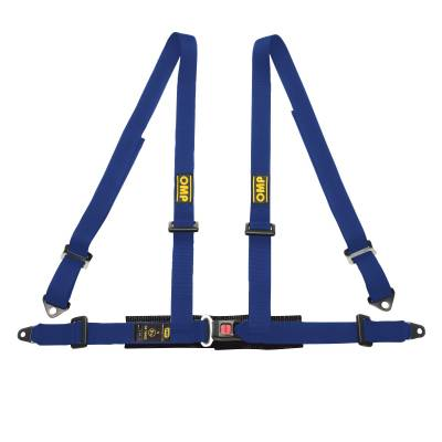 OMP DA505041 Ременьремни безопасности ROAD 4, 4точ-2, болты, синий
