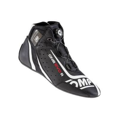 OMP Ботинки для автоспорта ONE EVO-R, FIA, черный, р-р 41