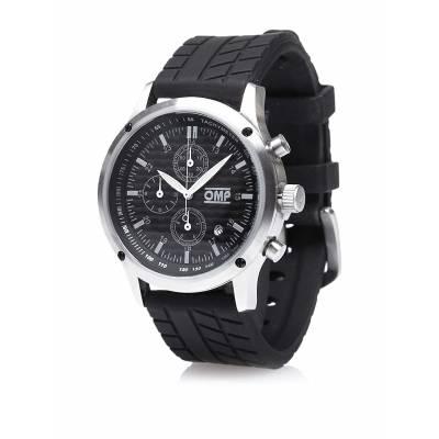 OMP ORE3914CL ****Часы T-Race цвет-карбон, нержавеющая сталь, диаметр 44 мм, черный каучуковый рем