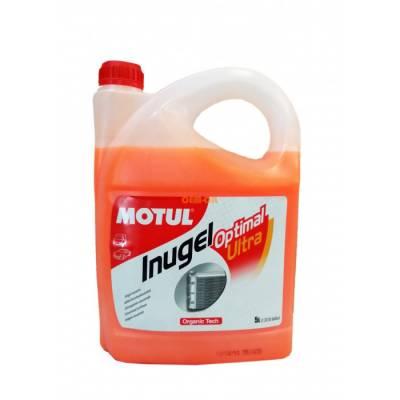 MOTUL Охлаждающая жидкость Inugel Optimal Ultra -54 1L (антифриз концентрат, оранжевый)