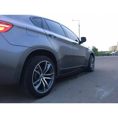 накладки под пороги для BMW X5M/X6M (E70/E71) (пластик)