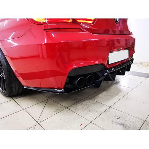 3D Design-style Задний диффузор для BMW 6-series M-sport (F12/F13/F06) (пластик)