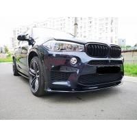 ABS Передняя губа для BMW X5M/X6M F85/F86 (пластик)