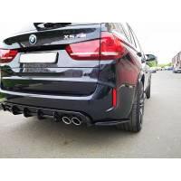 ABS Задний диффузор для BMW X5M/X6M F85/F86 (пластик)