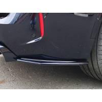 ABS Элероны заднего бампера для BMW X5M/X6M F85/F86 (пластик)