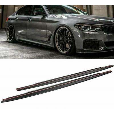 3D Design-style накладки под пороги для BMW 5-series G30 M-performance (пластик)