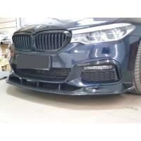 ABS Передняя губа для BMW 5-series G30 M-performance (пластик)