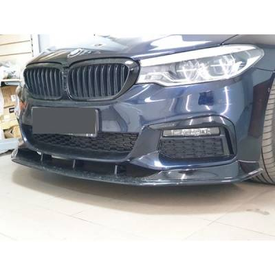 3D Design-style Передняя губа для BMW 5-series G30 M-performance (пластик)
