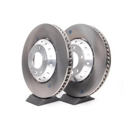 VAG Передние тормозные диски для Bentley Bentayga/Audi Q7/Q8/A8/Touareg mk3 (4m/d5) (400x38мм)