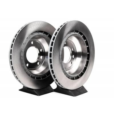 Porsche Задние тормозные диски для Porsche Cayenne Turbo/GTS/ Audi Q7/ VW Touareg (358x28mm)