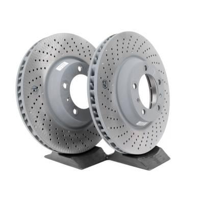 Porsche передние тормозные диски для Porsche Cayman/Boxster 981 (315x28mm)
