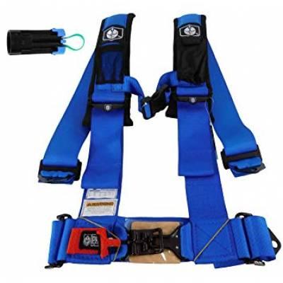 PRO ARMOR A115230VB Ремни безопасности 5 точечные , синие , 3 дюйма