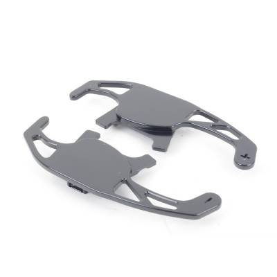 RACINGLINE VWR49G701 DSG Paddle replacements for VW Golf 7 GTI, Golf 7 R TITANIUM SILVER FINISH