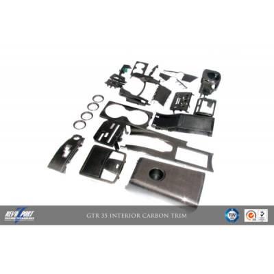 RevoZport К-т деталей интерьера 24 шт. для Nissan R35 GTR