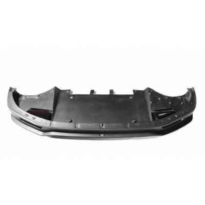RevoZport Передний сплиттер с обдувом тормозов для Nissan R35 GT-R (2011+) (карбон)